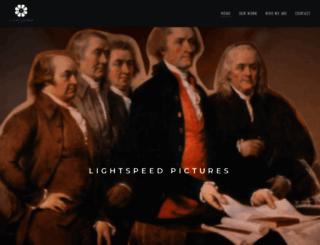 lightspeedpictures.com screenshot