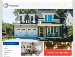 lightsunlimitedinc.com screenshot