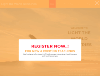 lighttheworldministries.co.za screenshot