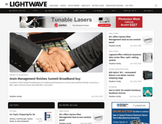 lightwaveonline.com screenshot