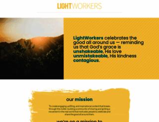 lightworker.org screenshot