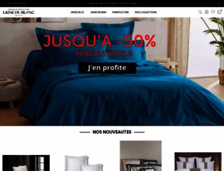 lignedublanc.fr screenshot