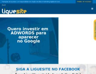 liguefranquia.com.br screenshot