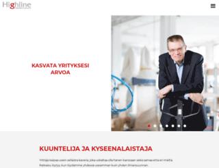 liiketoimintasuunnitelma.fi screenshot
