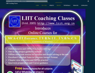 liit.org.in screenshot