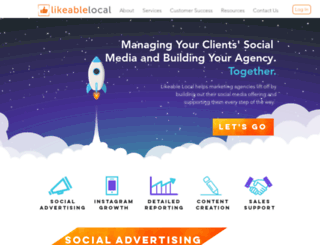 likeablelocal.com screenshot