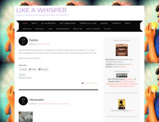 likeawhisper.wordpress.com screenshot