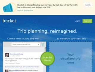 likebucket.com screenshot