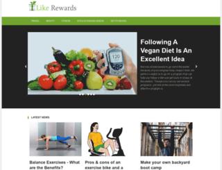 likerewards.com screenshot