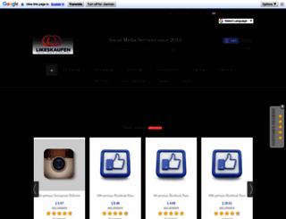 likeskaufen.eu screenshot