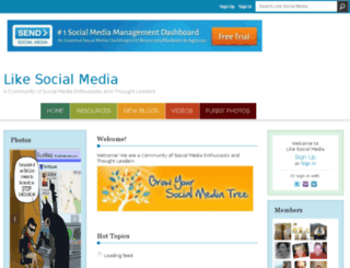likesocialmedia.com screenshot