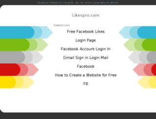 likespro.com screenshot
