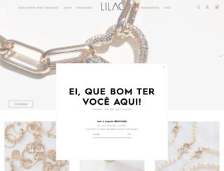 lilacacessorios.com.br screenshot