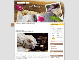 lilahangya.blogspot.com screenshot