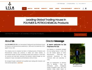 lilapolymers.com screenshot