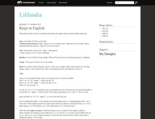liliailil.vuodatus.net screenshot