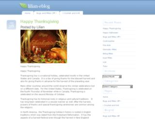 lilian-eblog.com screenshot