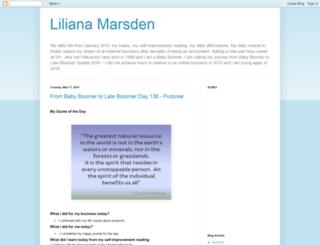 lilianamarsden.blogspot.co.uk screenshot