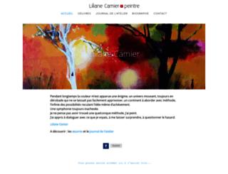 lilianecamier-peintre.fr screenshot