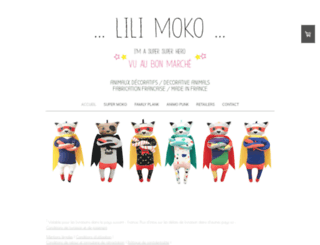 lilimoko.com screenshot