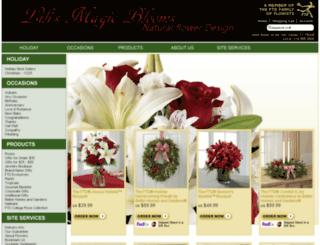 lilismagicbloom.net screenshot