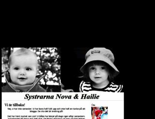 lillahailie.blogg.se screenshot