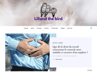 lillandthebirds.com screenshot