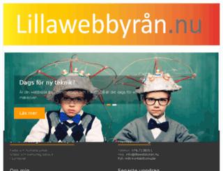 lillawebbyran.nu screenshot