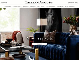 lillianaugust.com screenshot