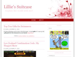 lilliessuitcase.com screenshot