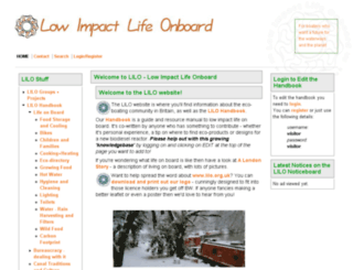 lilo.org.uk screenshot