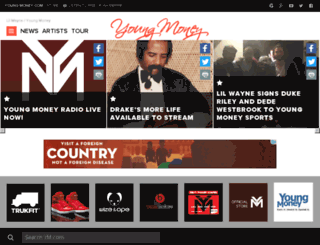 lilwayne-online.com screenshot