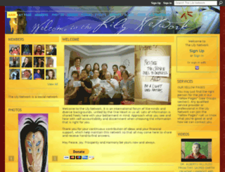 lilyandbeyond.ning.com screenshot