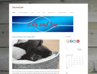 lilyandjae.com screenshot