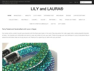 lilyandlaura.com screenshot