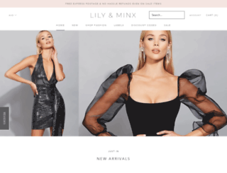 lilyandminx.com.au screenshot