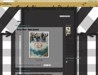 lilyauzhomemadechocolate.blogspot.com screenshot