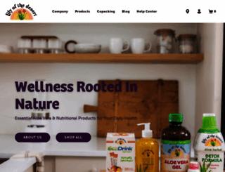 lilyofthedesert.com screenshot