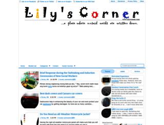 lilyscorner.com screenshot