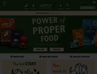 lilyskitchen.co.uk screenshot