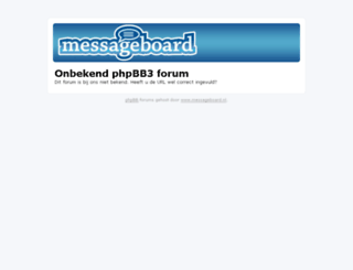 lima.messageboard.nl screenshot