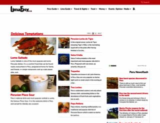 limaeasy.com screenshot