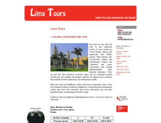limatours1.blogspot.com screenshot