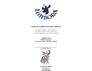 limbora.cz screenshot