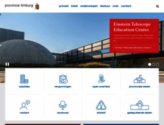 limburg.nl screenshot