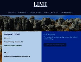 lime.org screenshot