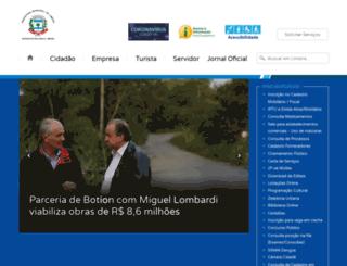 limeira.sp.gov.br screenshot