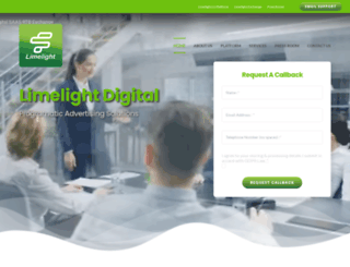 limelightdigital.com screenshot