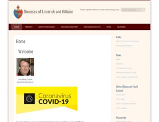 limerick.anglican.org screenshot