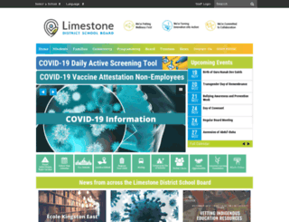 limestone.on.ca screenshot